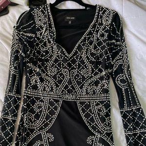 XSCAPE Embellished Dress